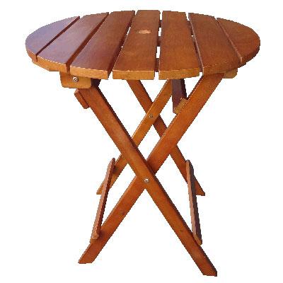 60cm实木休闲折合桌/行动咖啡桌椅/休闲阳伞桌椅组